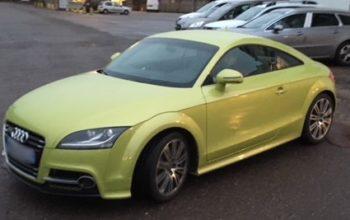 Audi TTRS Cercle sur volant + frein new